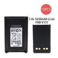 10X FNB-V106 1650mAh 7.4V Replacement li-on Battery for Yaesu Vertex Standard VX-230 VX-231 VX-231L VX228 Radios 2pcs yaesu fnb 80li lithium ion battery for yaesu vx7r vx 5 vx 5r vx 5r vx 6r vx 6e vx 7r vxa 700 vxa 7 radio 1500mah