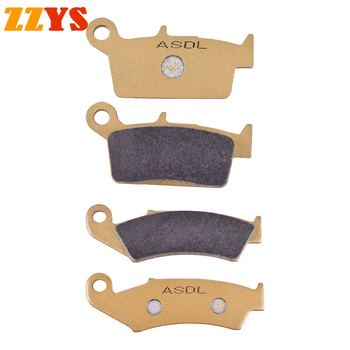 Motorcycle Front and Rear Brake Pads For GAS GAS Dirt MX 125 MX250 MX200 MX250 MX300 Trail Halley 125cc EC450 FSR FSE image