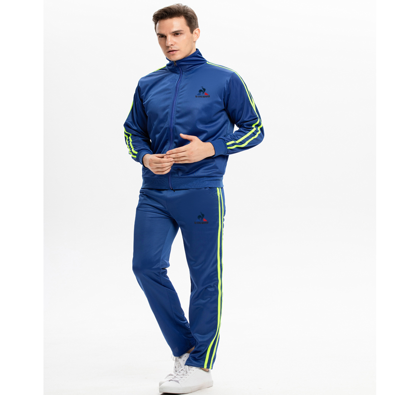 2020 Spring And Autumn New Men's Sportswear Suit Casual Sportswear Men's 2 Sweatshirts + Track Pants