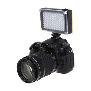 Image 4 - ドロップ卸売高輝度撮影DVFT 96 ledビデオライトカメラのdvビデオカメラミノルタ