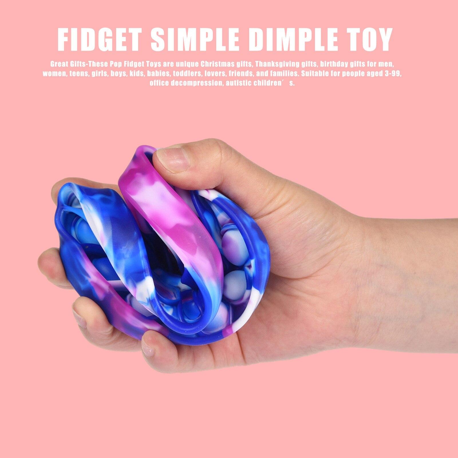 Bubble-Fidget-Toys Strings Anti-Stress-Set Relief Figet Sensory Push-Pop Adults Children img4
