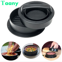 Pastry-Tools Hamburger-Maker Pie-Press Stuffed-Burger-Mold Beef Patty Meat Round-Shape