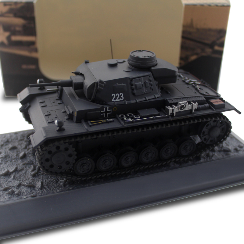 Rare  1/43  Germany  Sd.kfz.141 Third Armor Of Assault Tank  Finished Alloy Model