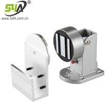 Wall Mount Magnetic Door Stopper Fire Equipment Electromagnetic Door Holder 24V