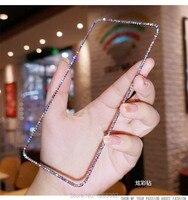 Capa protetora de tela de vidro 9d, com glitter, cristal bling, para huawei p20, p30, p40 lite, honor 10i, 10, 20, lite pro, p smart z 2021