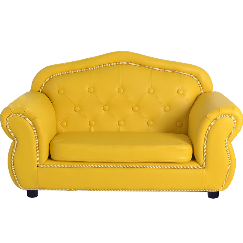 Emperor Lovely Small Sofa Bean Bag Comfortable Children Bedroom Baby FurnitureMulti-function Kids Sofa Zitzak Yellow