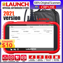 Launch X431 CRP129E OBD2 Car Diagnosis Scanner For ENG/AT/Airbag/SRS&EPB Oil SAS ETS TMPS Reset For 1000+Kinds Car Lifetime Free