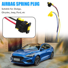 Small Airbag Clockspring Plug Steering Wheel Connector Clock Spring Wire Elements Personal Car Part Ornaments for Ford(China)