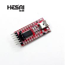 Wysokiej jakości FT232RL FT232 FTDI USB 3 3V 5 5V do TTL moduł adaptera szeregowego mini port tanie tanio HESAI Nowy Regulator napięcia Komputer 3 3V 5V