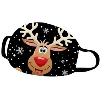 Christmas Print Unisex Mouth Masks For Women Men Face Cover Dustproof Reusable Mouth-muffle Adjustable Fashion Masque Mascarilla