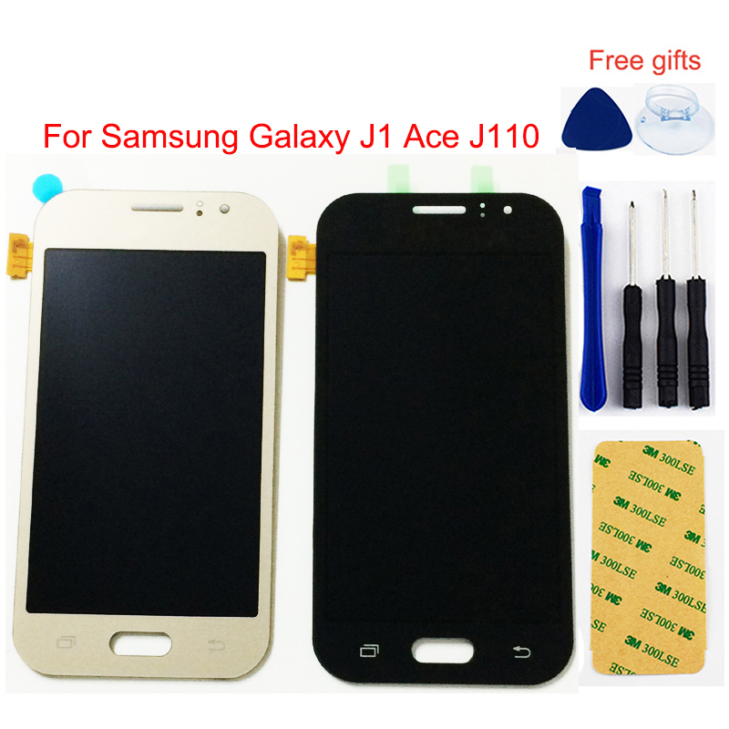 LCD For <font><b>Samsung</b></font> Galaxy <font><b>J1</b></font> <font><b>Ace</b></font> LCD Screen J110 SM- J110F LCD <font><b>Display</b></font> J110H J110M J110FM LCD <font><b>Display</b></font> + Touch Screen Assembly image