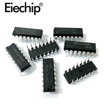 10PCS/lot DIP Integrated IC Logic IC  Driver IC 74LS160  74LS161  74LS164  74LS192  74LS245  74LS373   diy kit 5pcs lot new original ta6586 6586 dip 8 motor driver ic