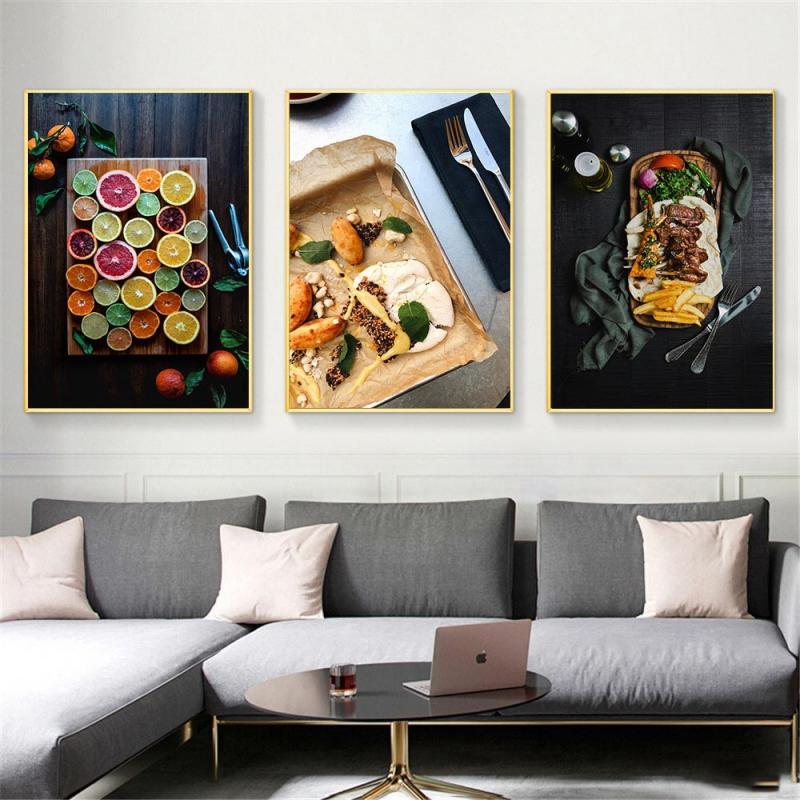 Скандинавская современная домашняя отделка кухни настенный Декор