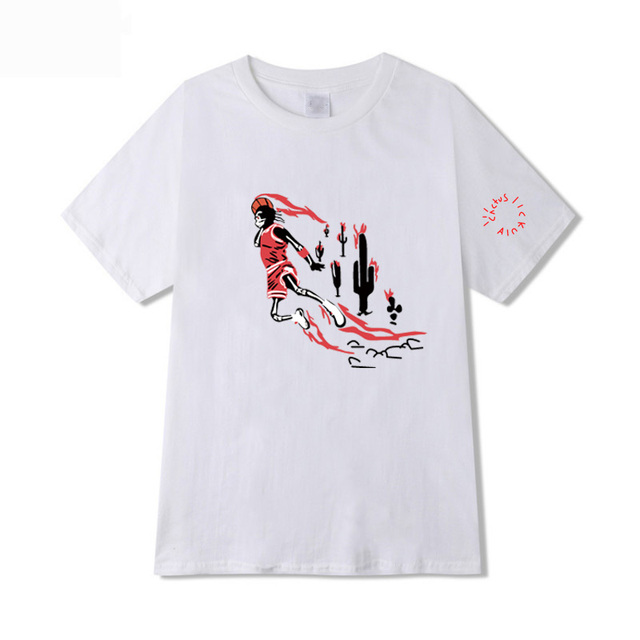 JORDAN X TRAVIS SCOTT THEMED T-SHIRT (6 VARIAN)