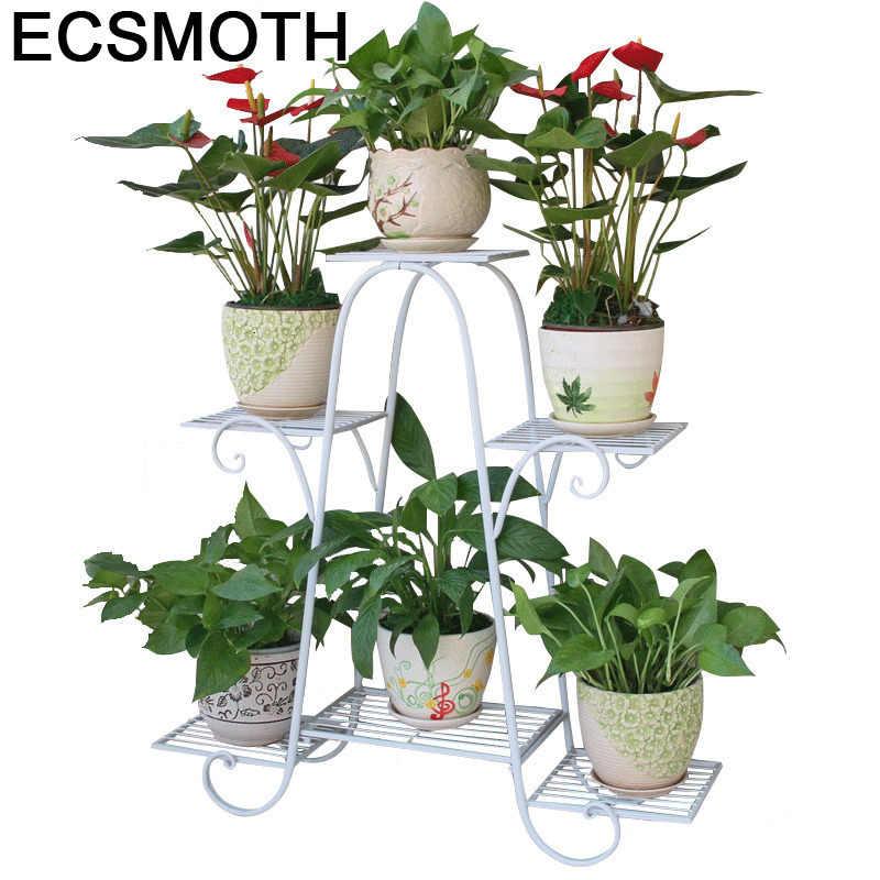 Outdoor Decor Support Pour Plante Planten Rek Decoration Exterieur