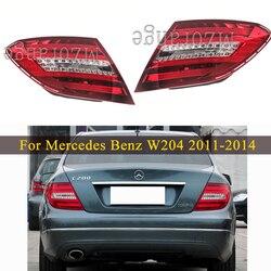 Для Mercedes Benz W204 C180 C200 C220 C260 C280 C300 2011-2014 задний светильник 1 шт. кабеля сигнала поворота светильник s заднего бампера светильник