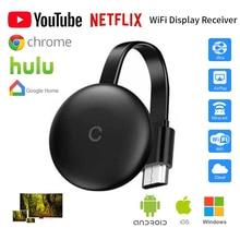 G12 TV Stick for google Chromecast 3 for Netflix YouTube WiFi Display HDMI wireless Dongle miracast