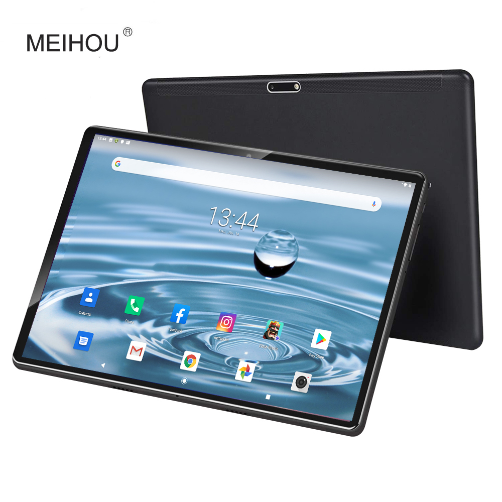 2020 Version <font><b>10</b></font> Inch <font><b>Tablet</b></font> 4G LTE Octa Core Dual SIM Card Bluetooth Google Play <font><b>Android</b></font> 9.0 OS Phone GPS 3GB RAM 32 GB ROM image