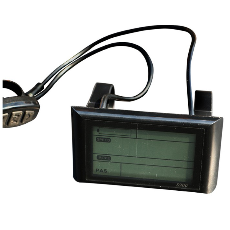<font><b>LCD</b></font> 36/48V <font><b>Display</b></font> For Bicycle Control Panel Battery Level Indicator In Motion For Bicycle <font><b>Controller</b></font> E <font><b>bike</b></font> Bicycle Accessories image