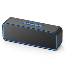 Buy TWS Wireless Portable Speaker Music Boombox Soundbar Bluetooth Speakers with Subwoofer Parlantes Para Pc Altavoces som F4035 directly from merchant!