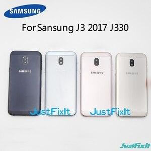 Оригинальный чехол для Samsung Galaxy J3 2017, J330 SM- J330A, J330F, J330M, J330FN, задняя крышка аккумуляторного отсека, задняя крышка аккумуляторного отсека
