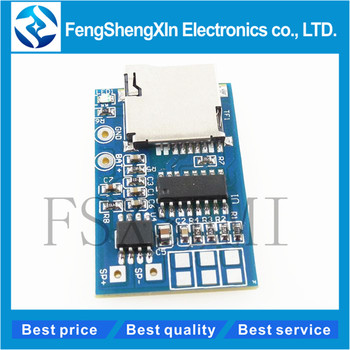 1pcs GPD2846A Board 2W Amplifier TF Card MP3 Player Decoder Module for Arduino GM Power Supply 5V Audio Mode - sale item Active Components