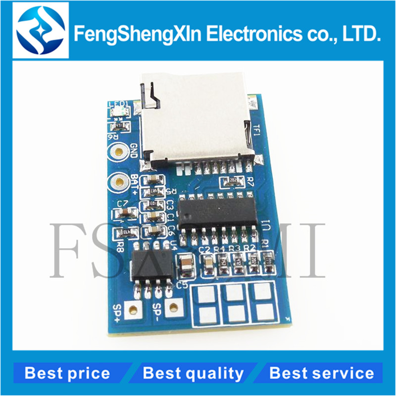 1pcs GPD2846A Board 2W <font><b>Amplifier</b></font> TF Card MP3 Player Decoder <font><b>Module</b></font> for Arduino GM Power Supply <font><b>Module</b></font> <font><b>5V</b></font> Audio Mode image