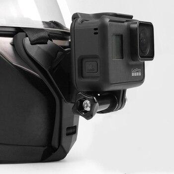 Soporte de montaje de máscara para barbilla para GoPro Hero 8, 7, 6, 5 y 3, accesorios de cámara para Go Pro
