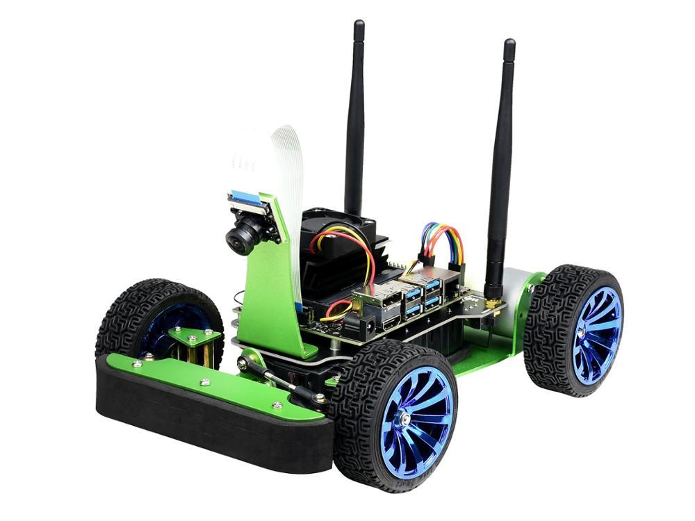 Jetracer Ai Bộ Ai Đua Xe Robot Sử Jetson Nano, Học Sâu, Tự Lái Xe, Tầm Nhìn Dòng Sau