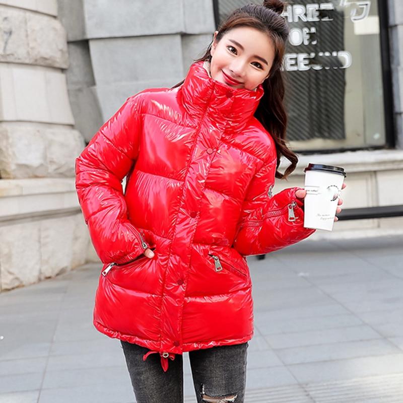 Thick cotton winter jacket women new fashion coat female brand warm down