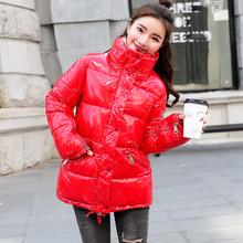 Thick cotton winter jacket women new fashion coat female jacket brand winter warm down cotton coat цена