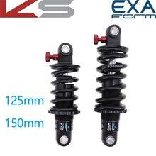 EXA form — Amortisseur arrière R, suspension réglable, pneu de descente, vtt, vélo, 125 150 165 190 291 mm, scooter électrique