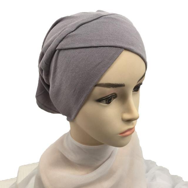 Фото 2020 эластичный тюрбан из хлопка для для женщин мягкие внутренние