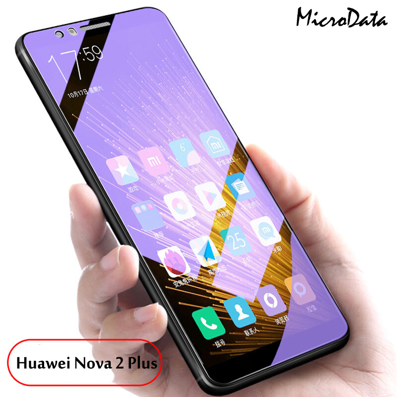 Anti Purple Blue Tempered Glass Huawei Nova 4 3 3i 3E 2 Lite Plus Huawei Nova 2 2i 2s Plus Eye-Protective Full Screen Protector