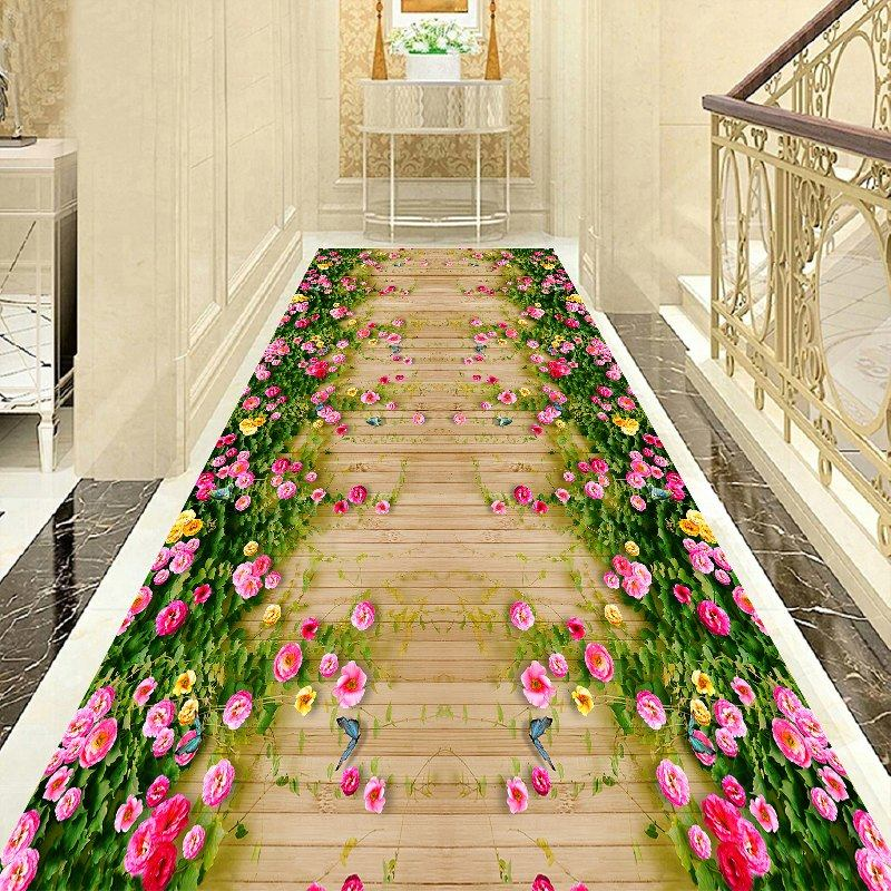 Long Corridor Carpet Livingroom Home Stair Rug Hotel Aisle Rugs Decorative Carpet Entrance/Hallway Doormat Kids Room Bedroom Rug