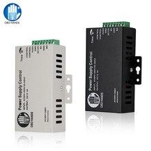 Sistema de controle de acesso de metal 5a, interruptor de fonte de alimentação dc12v/3a AC90V 260V entrada no/nc atraso de tempo para todos tipos fechadura eletrônica k80