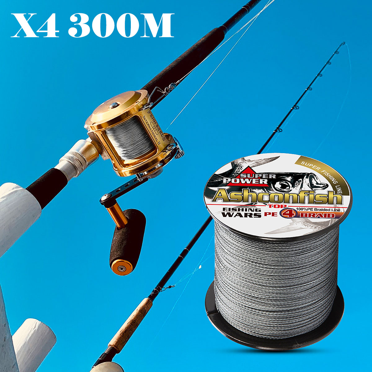 quanlity <font><b>fishing</b></font> <font><b>line</b></font> 300M super pe fiber <font><b>braided</b></font> wire 4 Strands strong <font><b>6LB</b></font>-100LB <font><b>fishing</b></font> tools 0.1mm-0.55mm <font><b>fishing</b></font> thread image