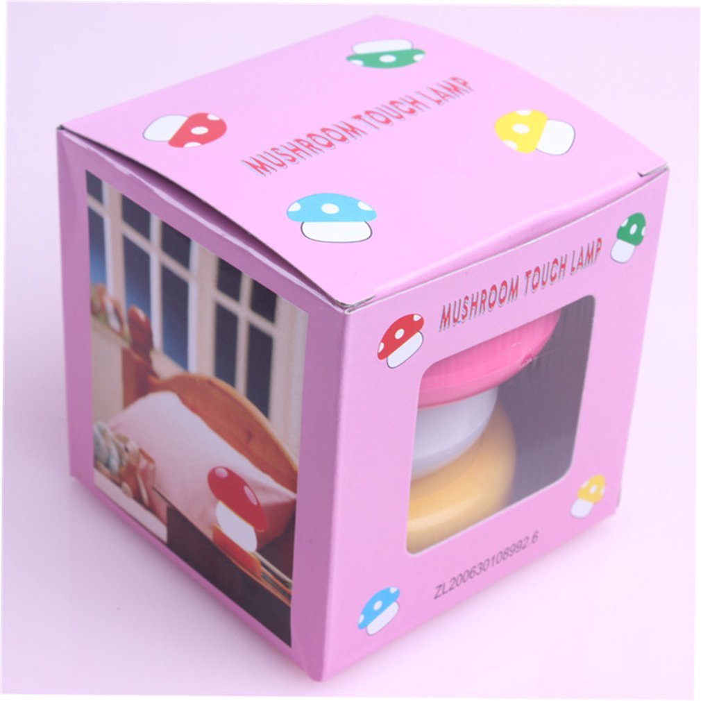 Small Mushroom Pat Light Random Household Products Daily Life Supplies Family Familiar Article Of Everyday Use