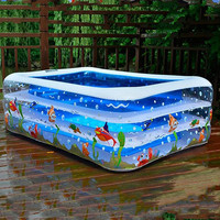 Children Inflatable Swimming Pool Inflatable Bathtub family Kids summer pool Water Fun Play garden outdoor swimming pool #45