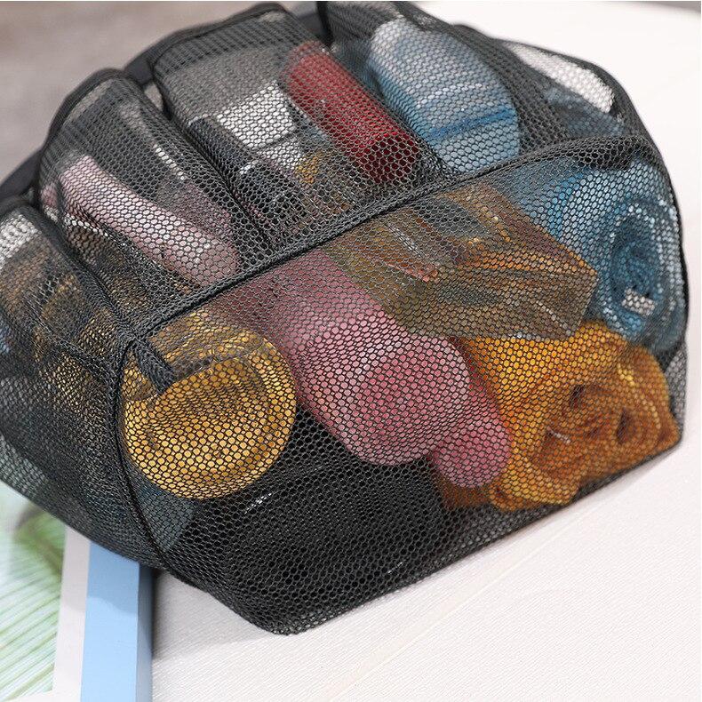 viagem portátil saco de armazenamento de malha