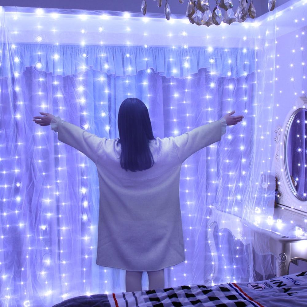 Decorațiuni de Crăciun pentru casă 3m 100/200/300 bliț cu LED - Produse pentru sărbători și petreceri - Fotografie 3