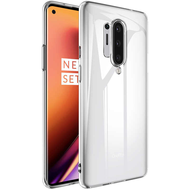 For OnePlus 8 Pro Case Slim Soft Transparent High Clear TPU Phone Cases For OnePlus 8 One Plus 8 Pro