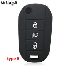 Автомобильный держатель, брелок, чехол для ключей для C4 Grand Picasso C5 X7 Berlingo C2 C3 для Peugeot 407 408 5008 2008 208 довоter 307 308 SW