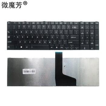 Engels Nieuwe Voor Toshiba Voor Satelliet C850 C850D C855 C855D L850 L850D L855 L855D L870 L870D Us Black Notebook Toetsenbord