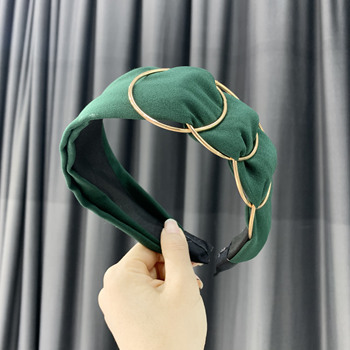 Chen Yan Fashion Print Headbands New Girl Headband Knot Cross Hairband FG 4