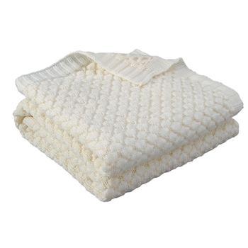 Baby Blankets Knitted Newborn Muslin Swaddle Wrap Envelopes Blankets Super Soft Solid Infant Kids Stroller Bed Sofa Quilt 100*80 baby blankets newborn flannel swaddle wrap blanket super soft toddler infant bedding quilt for bed sofa basket stroller blankets