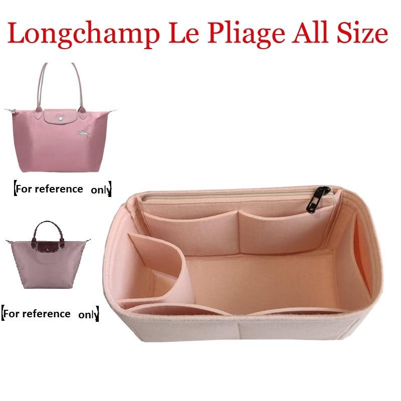 For Le Pliage NEO Cuir Large Medium Small  Shopper Bag Shaper Purse Organizer Diaper Shopping Inner Bag Purse Cosmetic Bag Girl