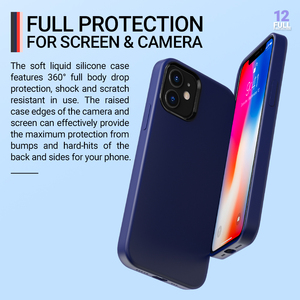 Image 5 - Hoco רך סיליקון מגן מקרה עבור iPhone 12 mini Pro 11 11Pro Max מקסימום כיסוי הגנת מעטפת סיליקון טלפון מגן צבעוני