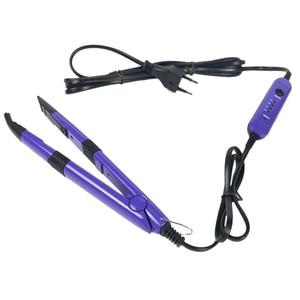 Инструмент для наращивания волос, инструмент для наращивания волос, железный соединитель, кератиновые инструменты для склеивания, Регулир...
