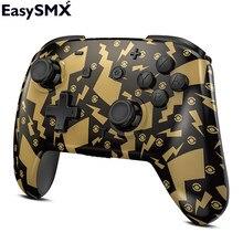 Easysmx ys06 bluetooth gamepad controlador para nintendo switch jogos consolas jogo de vídeo computador android telefone vibração gamepad